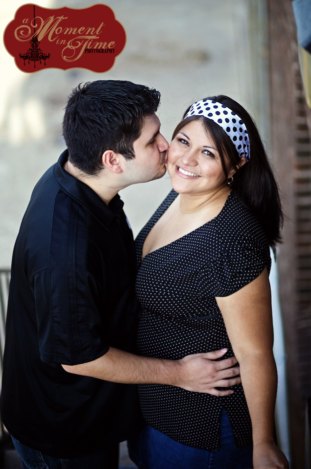 Stephanie Pena and Paul Garza had their engagement portraits done with A Moment in Time Photography, photos by Jennifer Nieland in Lubbock, Texas.