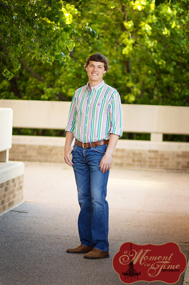 Wilson Rotenberry had his college graduation photos taken by Abilene wedding photographer and portrait photographer Jennifer Nieland, who owns A Moment in Time Photography. The photos were taken at Abilene Christian University, or ACU, for custom graduation announcements.
