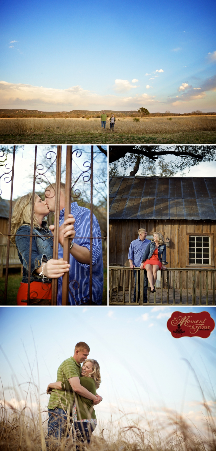 Jennifer Menuez, now Jennifer Nordquest, and Keith Nordquest hired A Moment in Time Photography and Jennifer Nieland, engagement photographer in Abilene, Texas to photograph their engagement session before their wedding this fall in Ohio.