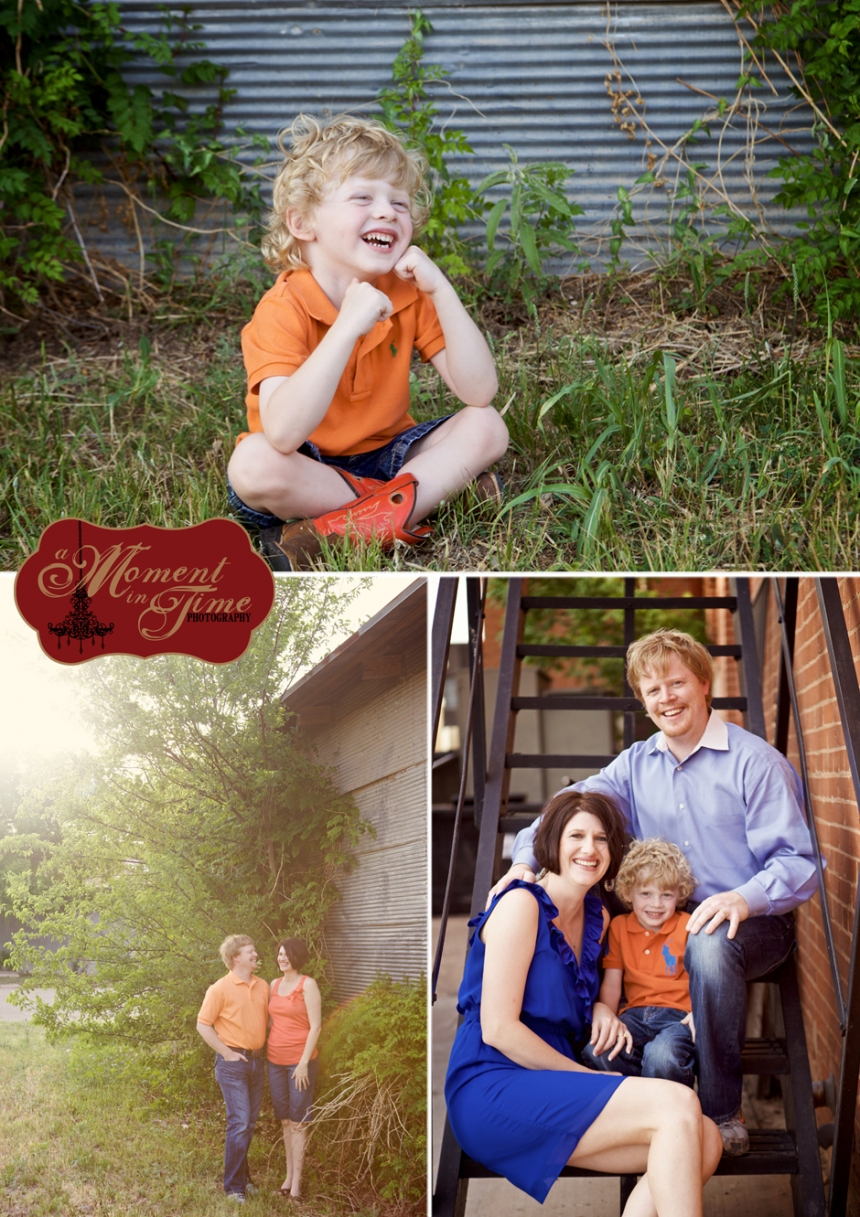 Chris Sargent and Sommer Sargent chose Abilene family photographer Jennifer Nieland of A Moment in Time Photography, who photographs Abilene portrait and weddings, to photograph their family in Abilene, Texas which is located in West Texas.