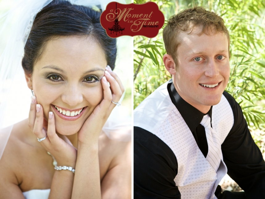 Lubbock wedding photographer Jennifer Nieland, of A Moment in Time Photography, photographed Jazmin Mojica, now Jazmin Blair, and Cody Blair