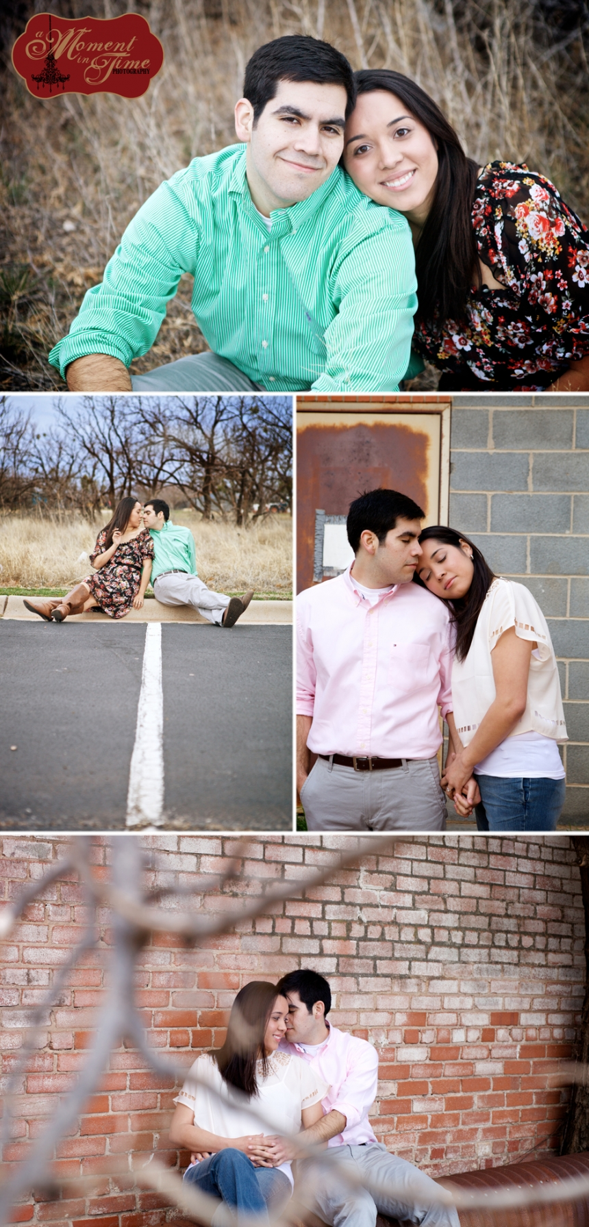 Zachary Rose, or Zach Rose, is marrying Laura Salas, now Laura Rose, and chose Abilene Wedding photographer Jennifer Nieland of A Moment in Time Photography to take both their engagement photos as well as their Abilene wedding photos.