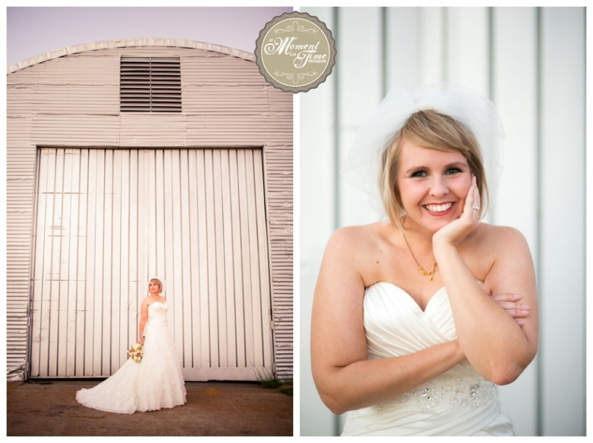 This photo shoot of a beautiful bride was taken for a romantic, beautiful, rustic, vintage wedding while she was wearing a white wedding gown with a sweetheart neckline for her bridal portraits during this happy photography session done by Jennifer Nieland a moment in time photography