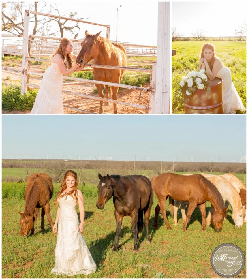 Alyssa Bridals, Alyssa Rhodes, Alyssa Grohman, Bridal photography, west texas, horses, west texas ranch, rustic, Maggie Sotero Dress, dress and veil, wedding dress and boots