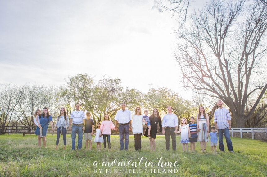 Jim Reese and Jody Reese or Joann Reese or Coach Reese of Abilene High Football or Abilene High Football coach and Taylor Elementary kindergarten teacher Mrs. Reese, or Taylor Rocks, Taylor Elementary School chose the best photographer in Abilene Jennifer Nieland of A Moment in Time to take their family photos. This included generations photos with Abilene photographer and west Texas photographer Jennifer Nieland along with family members Jordan Clark or Jordan Harrell, author of Friday Night Wives, and Coach Harrell, or Jordan Reese, along with Jenna Reese, now Jenna Cope and Matt Cope or Dr. Cope, son of Mike Cope, along with Justin Reese. A Moment in Time photography family photography generation session family session family photos photographer.