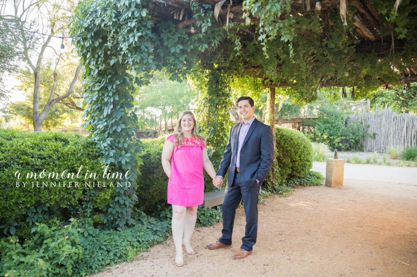 Kayli Denson, now Kayli Green, and Nick Green, chose Abilene wedding photographer and Abilene wedding planner Jennifer Nieland to capture their Abilene Zoo engagement photos. Engagement photos at the Zoo with engagement pictures with giraffes and best photographer in Abilene Jennifer Nieland.